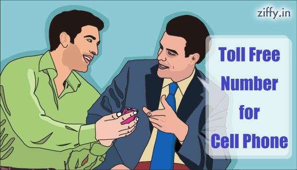 how to get a toll free cell phone number
