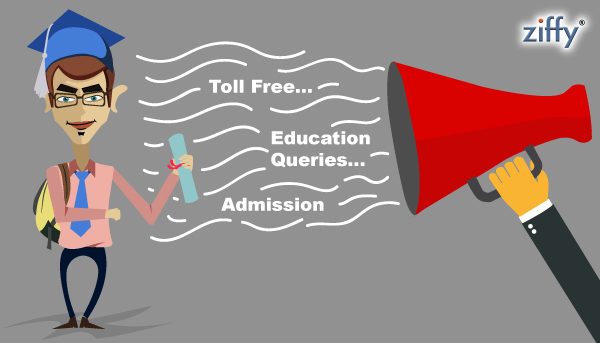 Toll-free-phone-solutions-for-education-sector-Ziffy
