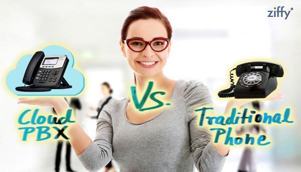Cloud-PBX-vs-Telephone