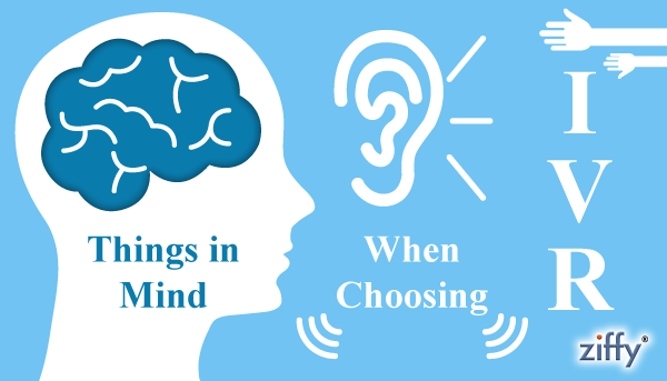 Things to be kept in mind while choosing IVR