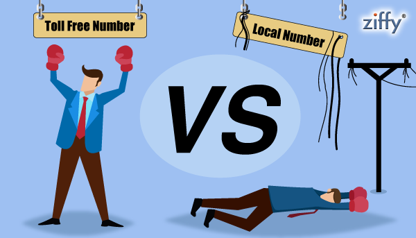 Toll Free Numbers VS Local Numbers