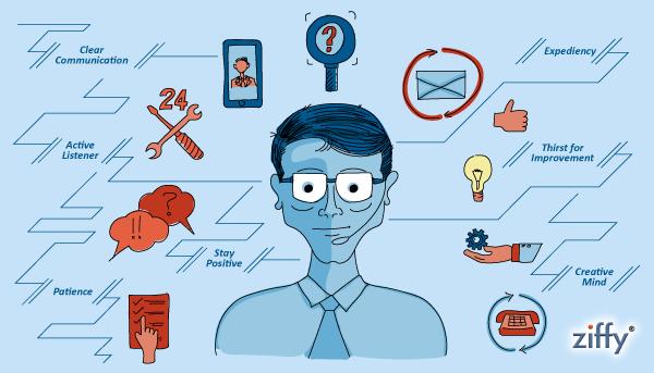 Characteristics of a good customer support executive
