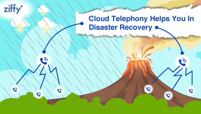 Do You Know Cloud Telephony Helps Your Business In Disaster Recovery!