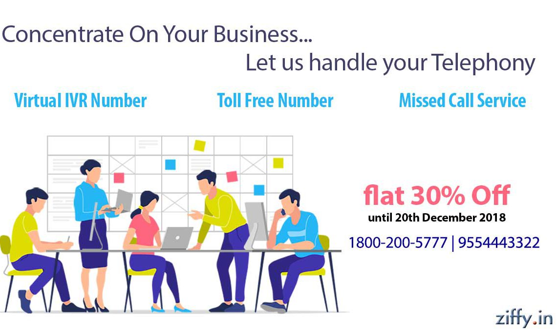Cheapest toll free number plan in India