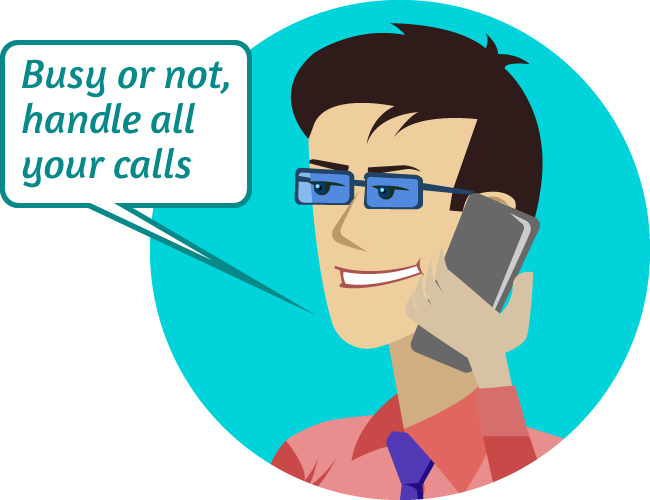 Robust telecom infrastructure, never miss a call